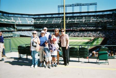 MC SilverSneakers members at a Rockies Game